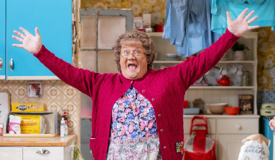 Mrs Brown's Boys Christmas and New Year Special 2020 - (BBC Studios - Photographer: Alan Peebles)