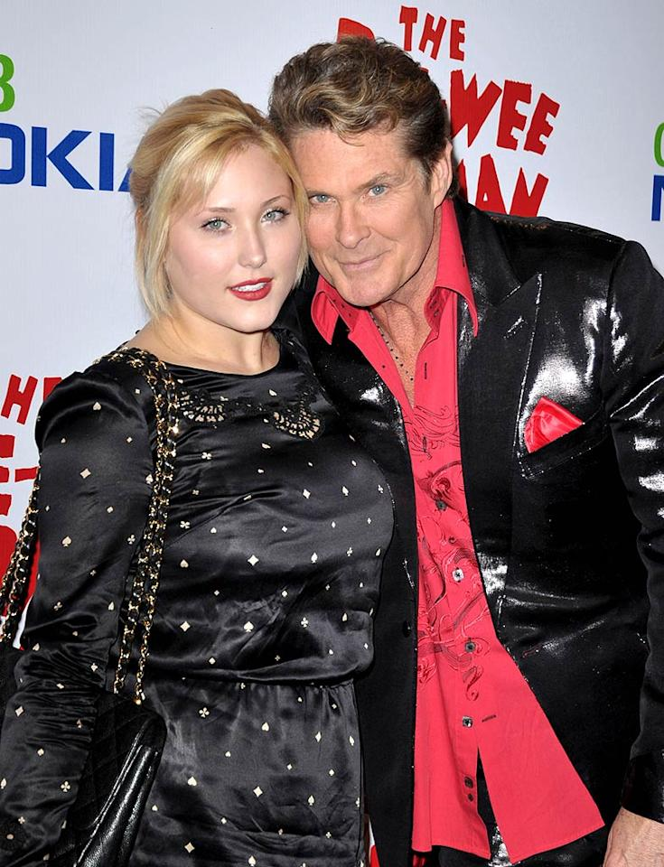 """A star-studded affair just wouldn't be complete without an appearance by David Hasselhoff. The Hoff and his daughter Haley (pictured) will soon be seen on the small screen in their very-own reality series on A&E. Will you watch it? John Shearer/<a href=""""http://www.wireimage.com"""" target=""""new"""">WireImage.com</a> - January 20, 2010"""