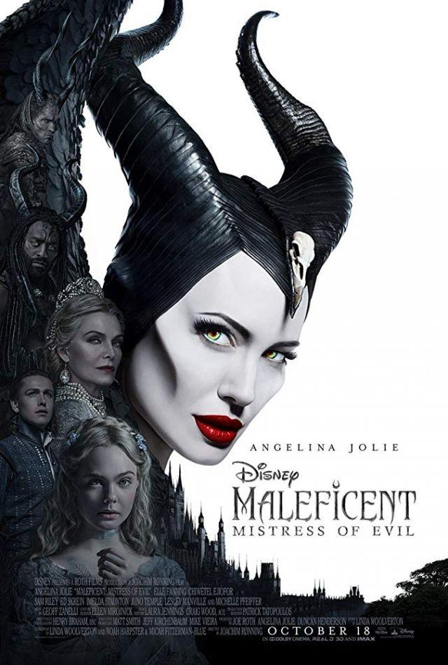 'Maleficent' sequel edges out 'Joker' at N. American box office