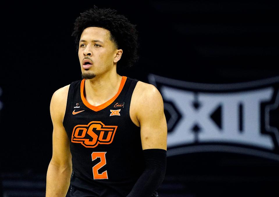 Oklahoma State guard Cade Cunningham is the type of player who could lift the Cowboys on his shoulders and carry them deep into March.