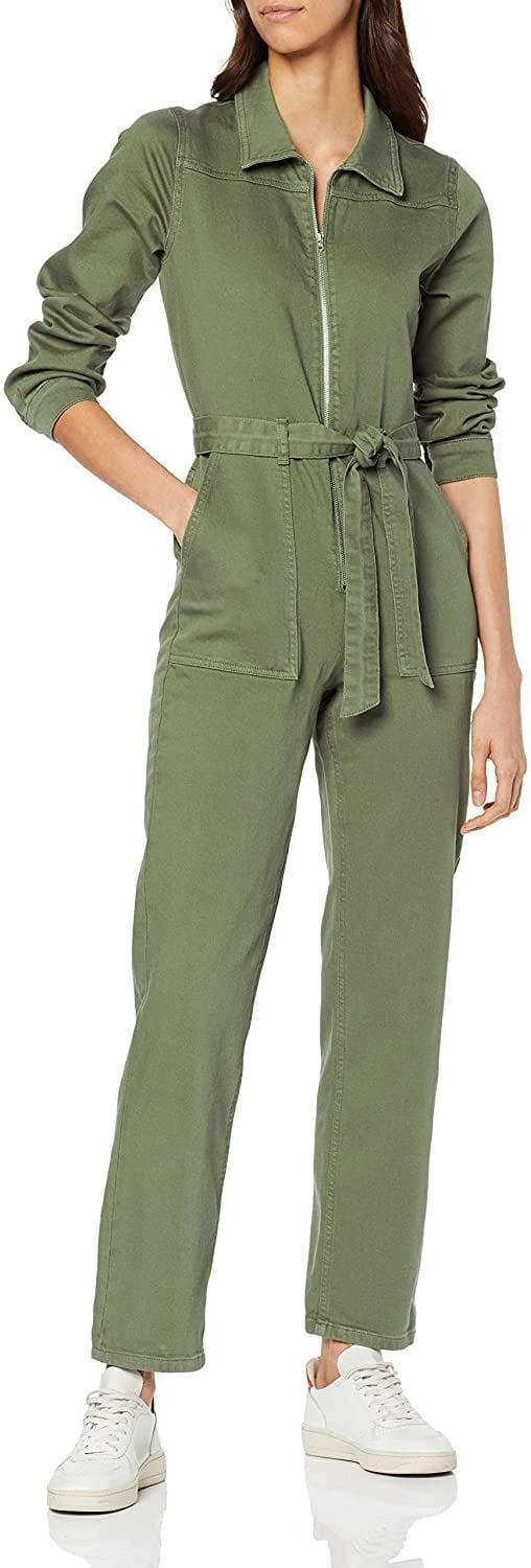 <p>I like how this <span>find. Jumpsuit</span> ($58) looks with white sneakers.</p>