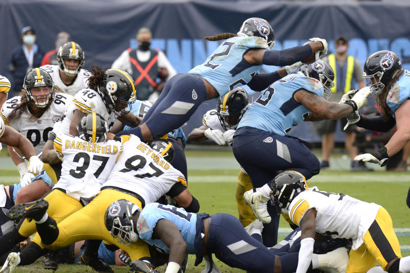 APTOPIX Steelers Titans Football