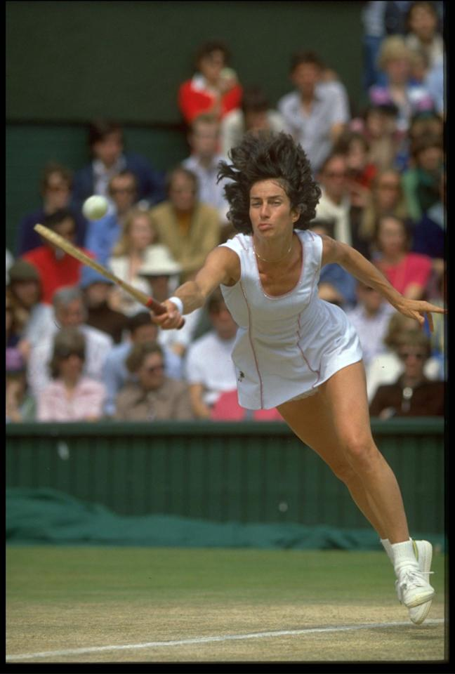 """<p class=""""MsoNormal""""><span>The last British player to win """"The Championships"""" was Virginia Wade in <b>1977</b>, the year of the Queen's Silver Jubilee. Could Britain be as fortunate in the year of the Golden Jubilee? Come on, Andy Murray!</span></p>"""