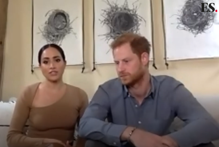 Harry and Meghan spoke in their video interview about the importance of racial equality (Evening Standard/PA)
