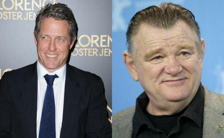 Grant and Gleeson... have joined the cast of the new Paddington movie - Credit: PA/AP
