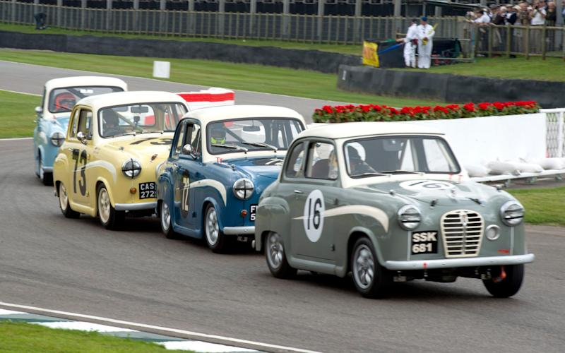 If you love close racing, you've come to the right place... - Geoff Pugh