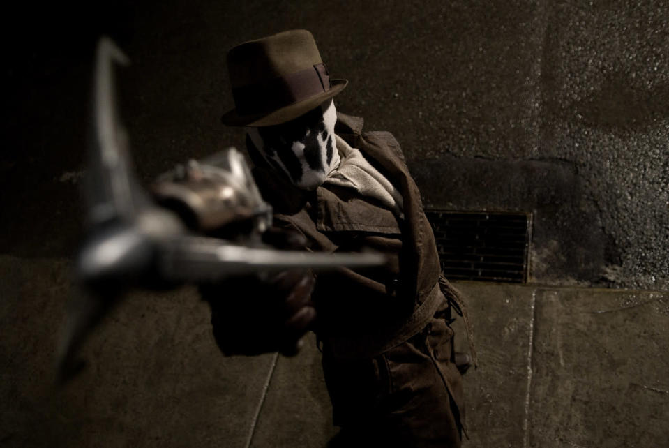 Jackie Earle Haley as Rorschach in Watchmen (Universal Pictures 2009)