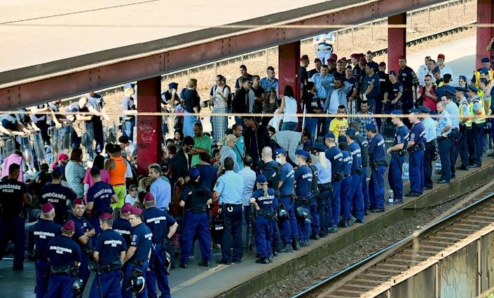 Hungary is a key entry point for tens of thousands of migrants entering the European Union (AFP Photo/Attila Kisbenedek)
