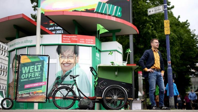 Green Party regional co-chairman Sebastian Striegel says the party is enjoying momentum from Berlin as it looks to make new inroads in a state where previously it has struggled