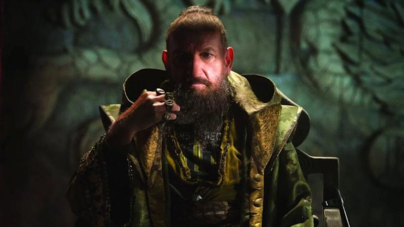 Ben Kingsley portrayed The Mandarin in 'Iron Man 3', though the character was revealed as dim-witted stooge Trevor Slattery. (Credit: Marvel)