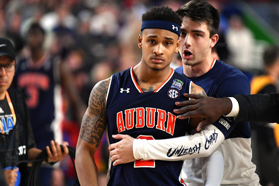 Best sports: men's basketball, women's golf. Trajectory: down. The Tigers posted their lowest finish of the five-year period, one year after posting their highest finish in the same period. A strong spring and the Final Four breakthrough season for men's basketball — which came within a foul call of playing for the national title — helped offset a lackluster autumn. Women's volleyball was the only fall sport to score points.