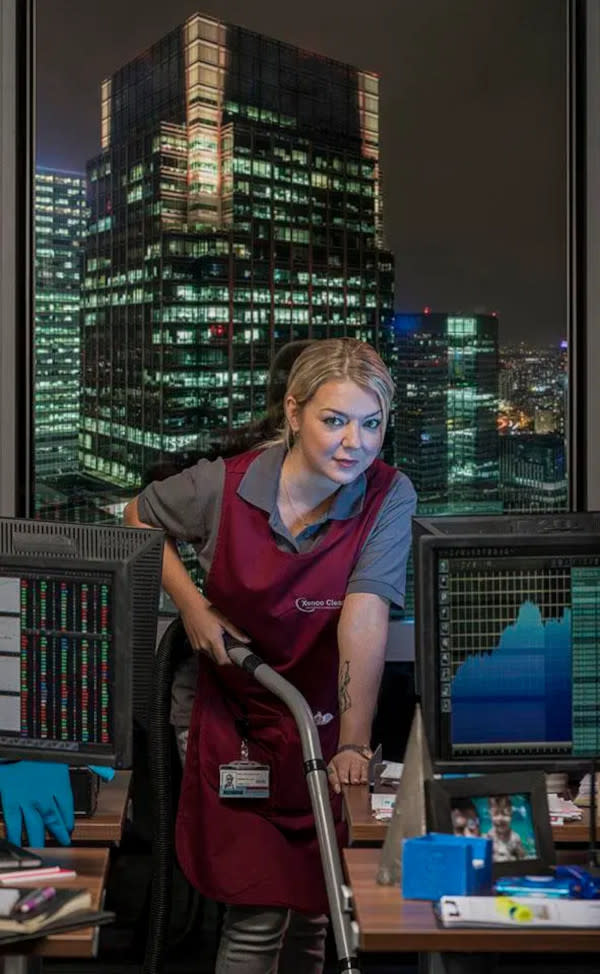 Sheridan Smith plays an office cleaner with a gambling addiction in the original series
