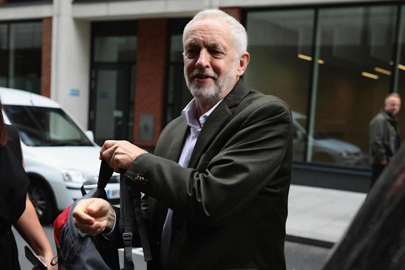 Criticial: Labour Leader Jeremy Corbyn, pictured arriving at the National Executive of Britain's Labour Party (Getty/Dan Kitwood)