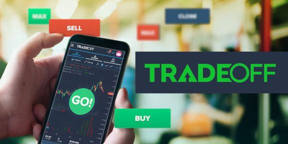 TradeOff teaches you how to trade stocks based on charts.