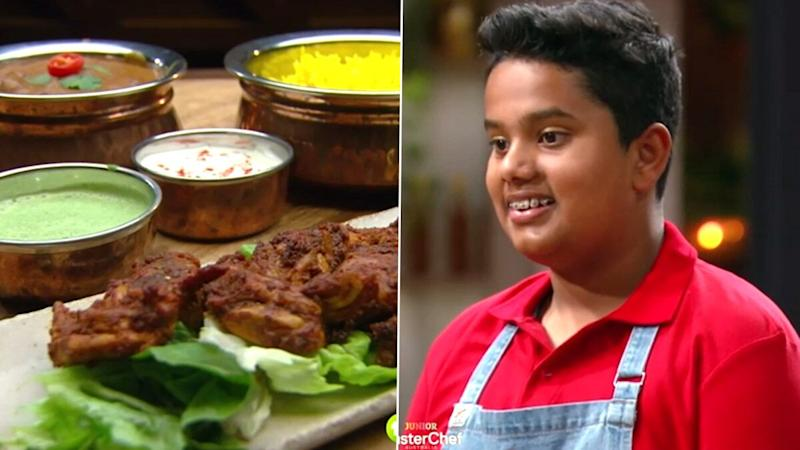 Junior MasterChef Australia Contestant Dev Impressed Judges With His Indian Cuisines! Lamb Mughlai Curry With Saffron Rice, Raita and More, Watch Video of the 13-YO Chef Desis Are So Proud