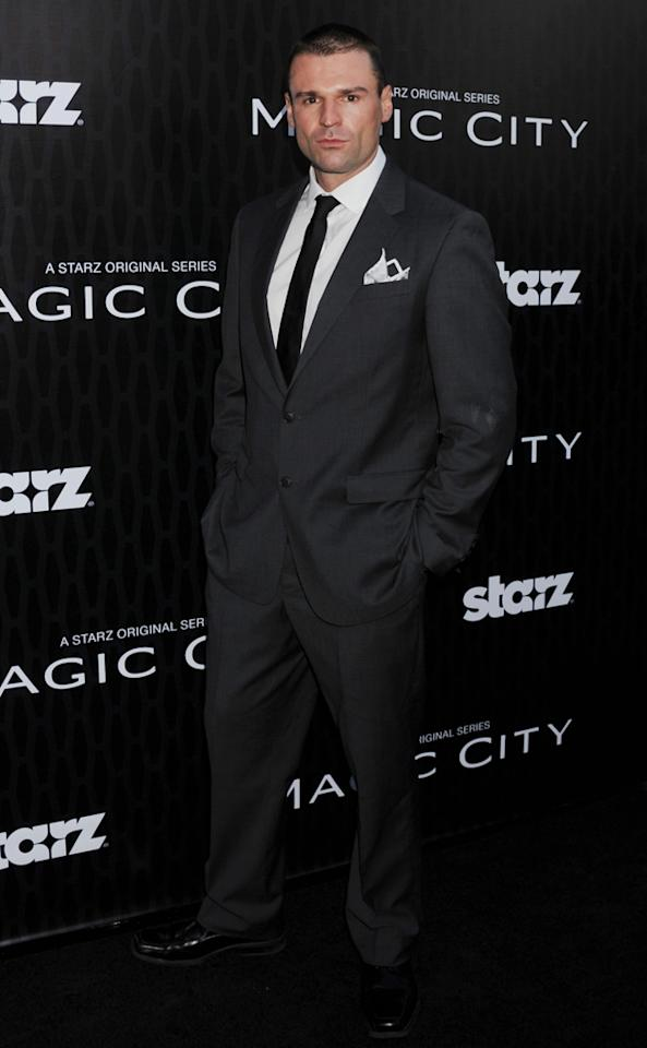 "Steven Dudley attends the Starz '<a target=""_blank"" href=""http://tv.yahoo.com/magic-city/show/46996"">Magic City</a>' Los Angeles Series Premiere at Directors Guild Of America on March 20, 2012 in Los Angeles, California."