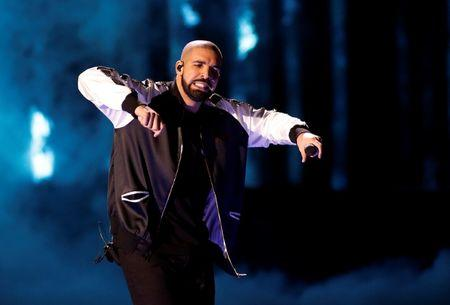 Drake performs during the iHeartRadio Music Festival at The T-Mobile Arena in Las Vegas
