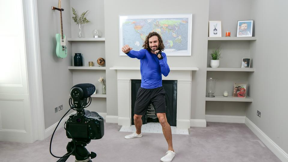 Joe Wicks has delivered his last PE workout. (Photo by Comic Relief/BBC Children in Need/Comic Relief via Getty Images)