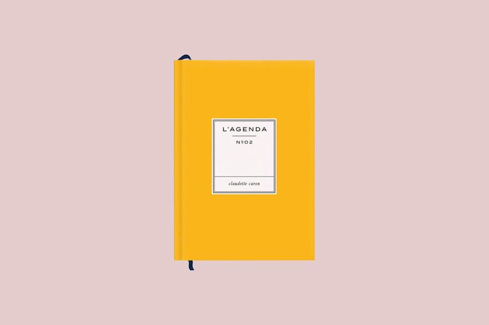 """<p>From mid-July to mid-July, this bright yellow planner is equal parts joy and efficiency. Featuring high-quality paper and a navy ribbon that eliminates the need for aimlessly flipping to find the current page, this school planner will be a bright spot in any student's day.</p> <p><strong><em>Shop Now:</em></strong><em> Papier """"Le Moderne"""" Mid-Year Planner in Vintage Mustard, $28.99, <a href=""""https://www.papier.com/us/le-moderne-26306"""" rel=""""nofollow noopener"""" target=""""_blank"""" data-ylk=""""slk:papier.com"""" class=""""link rapid-noclick-resp"""">papier.com</a>.</em></p>"""