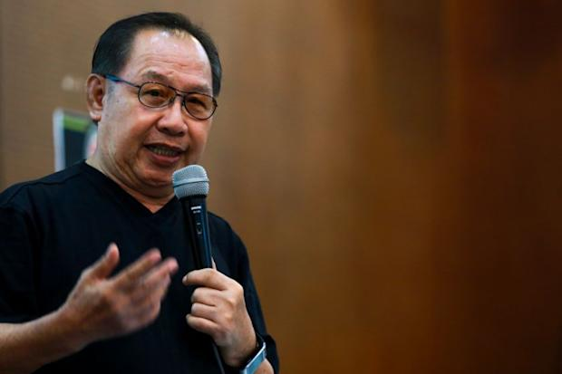 On March 11 Datuk Jeffrey Kitingan (pic) was stopped at the Immigration counter at the Kuching International Airport from entering Sarawak. — file pic