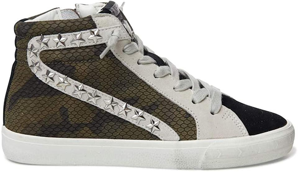 <p>If a decorated and distressed high-top is just your flavor, try the <span>Vintage Havana Kayla Sneakers</span> ($155).</p>