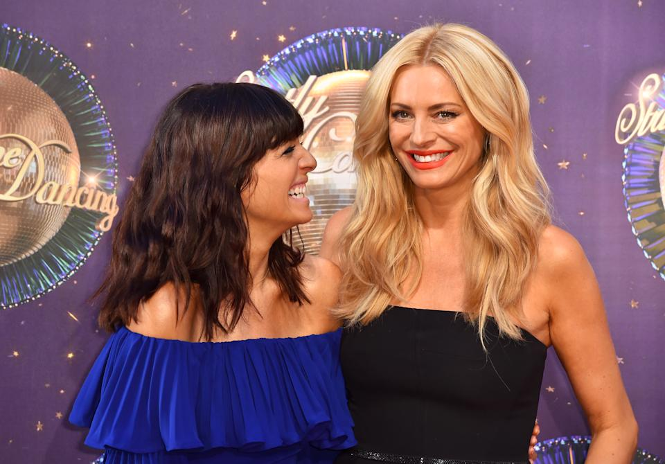 Winkleman and Daly at the launch of Strictly Come Dancing 2017. (Getty Images)