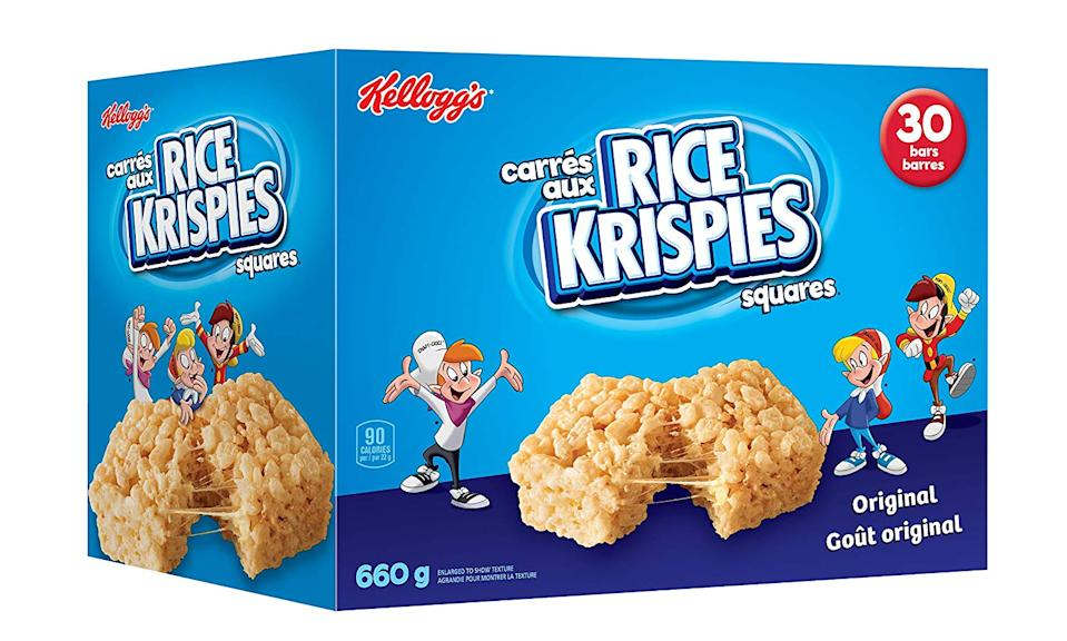 Kellogg's Rice Krispies Square Bars