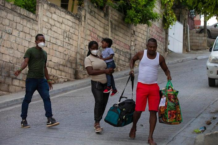 Haiti US Deported Migrants (Copyright 2021 The Associated Press. All rights reserved)