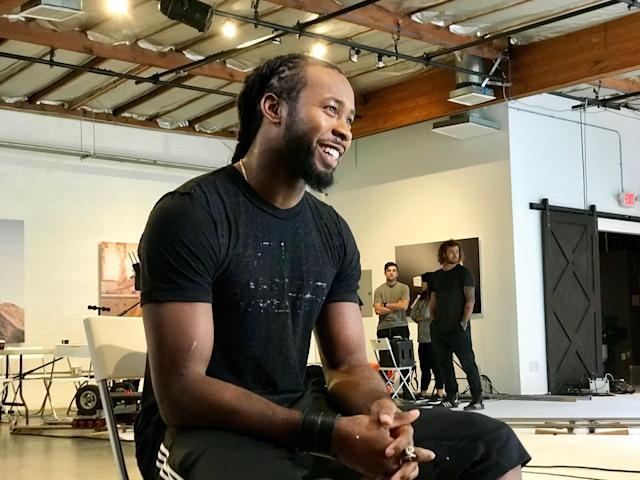 "Josh Norman is no stranger to show business. Aside from his current ""Taking ConTroll"" venture, he was on ""Dancing with the Stars: Athletes"" and the short film ""Shift."" (Yahoo Sports)"