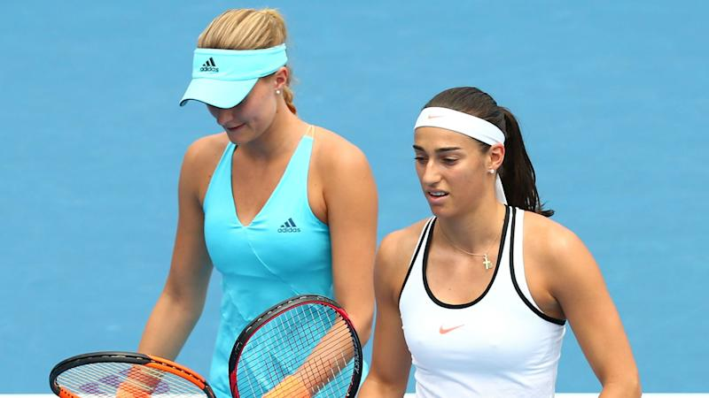 Garcia and Mladenovic put past feud behind them to send France into Fed Cup final