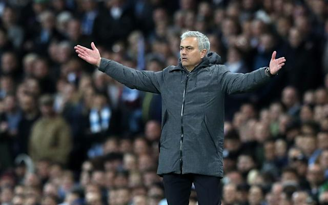 <span>Jose Mourinho is a man on a mission</span>