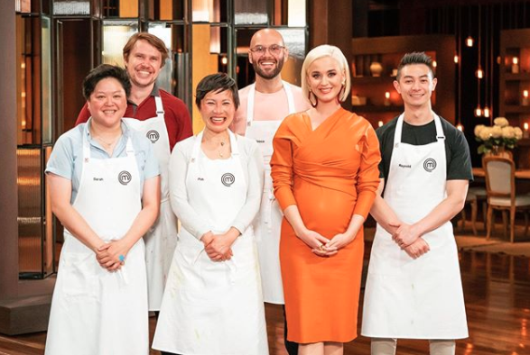 Katy Perry and the MasterChef 2020 contestants in Australia