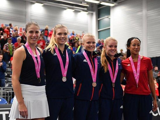 Great Britain to host Kazakhstan in Fed Cup playoff