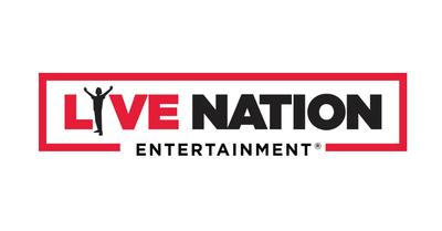 Live Nation Entertainment logo. (PRNewsFoto/Live Nation Entertainment)