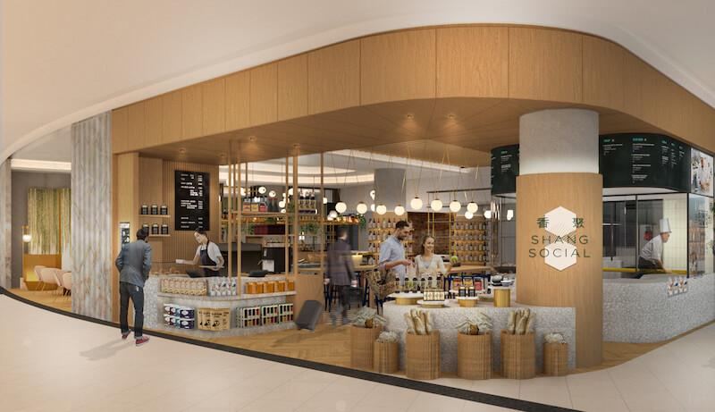 Artist rendering of the marketplace. Photo: Shang Social