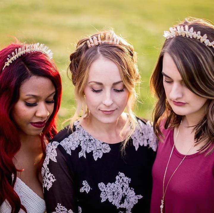 Crystal Crowns Are the New Flower Crowns This Festival Season