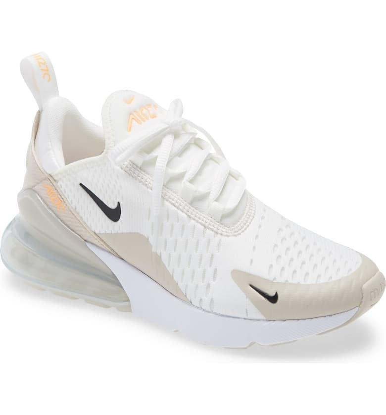 <p>These <span>Nike Air Max 270 Premium Sneakers</span> ($150) are so cool.</p>