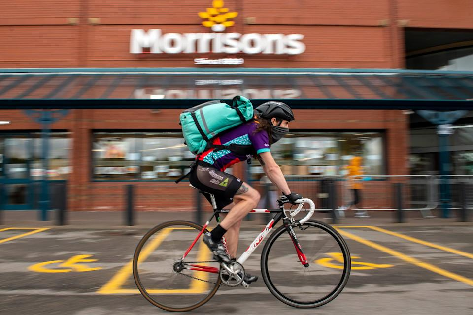 Bridgepoint has backed Deliveroo (PA Archive)