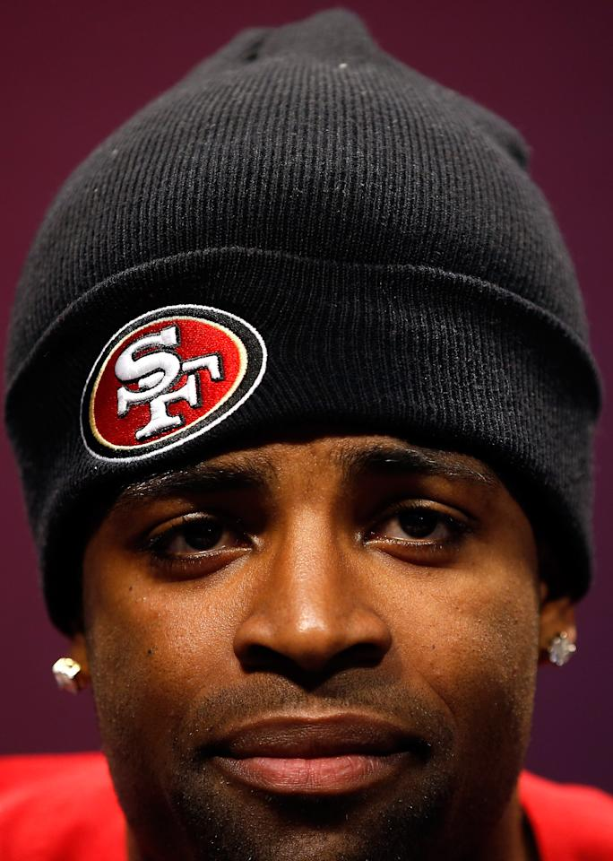 49ers wide receiver Michael Crabtree