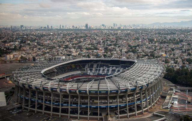 Fans who planned to travel to Mexico City for Monday's Rams-Chiefs games are now saddled with a tough decision. (Getty)
