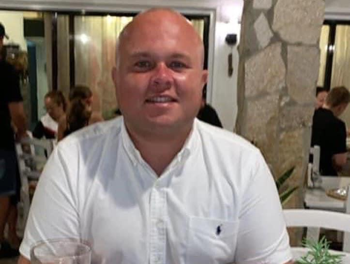 Charlie Naughton collapsed and died while watching England's Euro 2020 match against Germany. (GoFundMe)