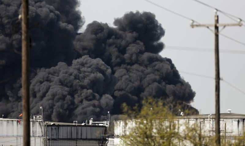 Petrochemical cleanup continues; Houston Ship Channel closed