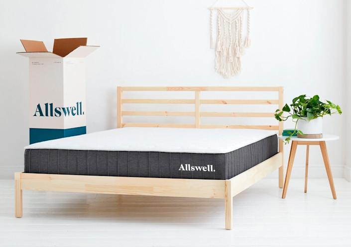 "Allswell's offering 20% off sitewide for Cyber Week with the code <strong>THANKS20</strong>. With over 1000 reviews, <a href=""https://fave.co/2PCAz9i"" rel=""nofollow noopener"" target=""_blank"" data-ylk=""slk:The Allswell"" class=""link rapid-noclick-resp""><strong>The Allswel</strong>l</a> might be the must-have to make your bedroom actually one that you want to sleep in. Shop Allswell's Cyber Week sale <strong><a href=""https://fave.co/2PCAz9i"" rel=""nofollow noopener"" target=""_blank"" data-ylk=""slk:here"" class=""link rapid-noclick-resp"">here</a>.</strong>"