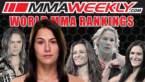 MMA Top 10 Rankings: Jessica Eye Leaps into Women's Pound-for-Pound Rankings