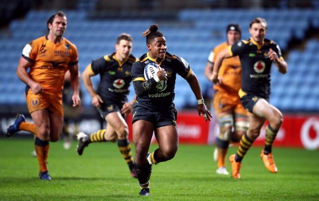 Wasps' Paolo Odogwu is an explosive runner