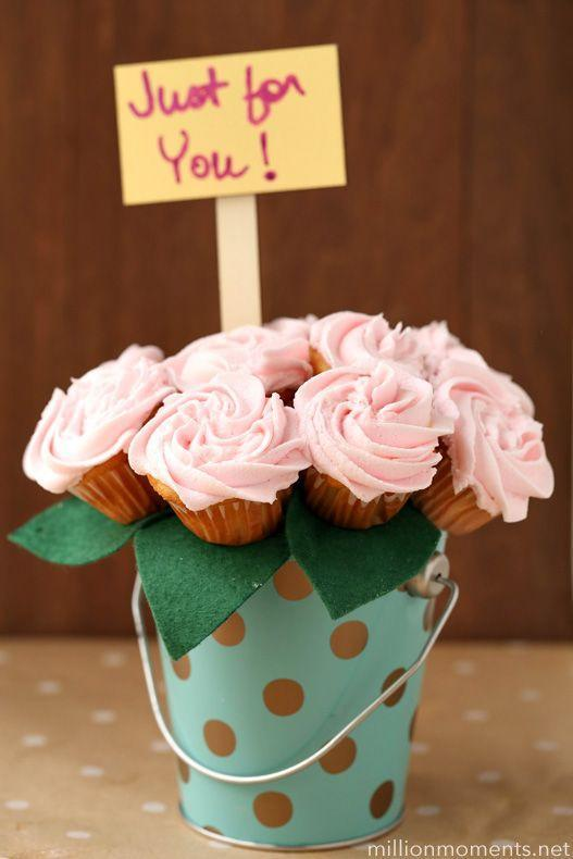 """<p>Can't decide between flowers or homemade goodies? These sweet lemonade cupcakes are the best of both worlds. </p><p><em><a href=""""http://millionmoments.net/2015/04/lovely-lemonade-buttercream-bouquet-recipe-craft.html"""" rel=""""nofollow noopener"""" target=""""_blank"""" data-ylk=""""slk:Get the tutorial at A Million Moments »"""" class=""""link rapid-noclick-resp"""">Get the tutorial at A Million Moments »</a></em> </p><p><strong>RELATED: </strong><a href=""""https://www.goodhousekeeping.com/holidays/mothers-day/g4249/mothers-day-desserts/"""" rel=""""nofollow noopener"""" target=""""_blank"""" data-ylk=""""slk:The Sweetest Mother's Day Desserts You Can Make"""" class=""""link rapid-noclick-resp"""">The Sweetest Mother's Day Desserts You Can Make</a></p>"""
