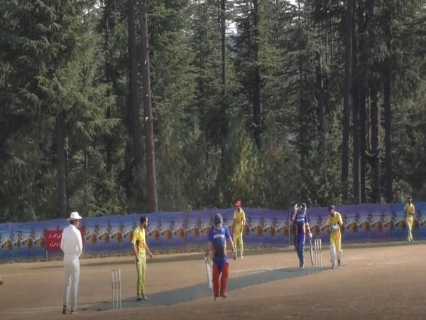 Unity Cricket Tournament organized by Indian Army concludes in North Kashmir on Sunday. Photo/ANI