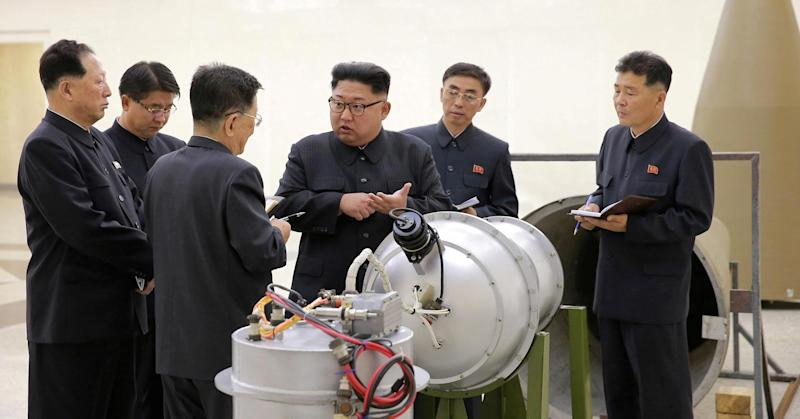 Dow falls 100 points after North Korea bomb test sends jitters through Wall Street