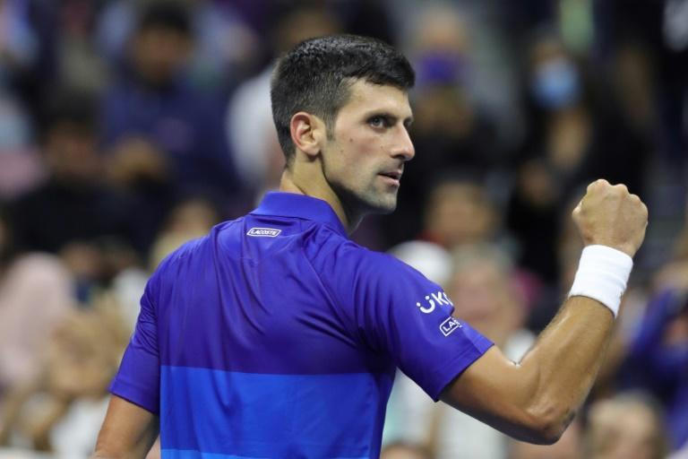 Serbia's Novak Djokovic can complete the first men's singles calendar-year Grand Slam since 1969 by defeating Russia's Daniil Medvedev in Sunday's US Open final (AFP/Kena Betancur)