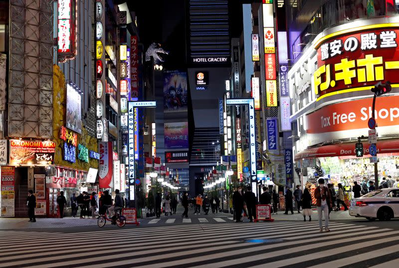 Japan state of emergency mutes nightlife but cities still open as infections rise